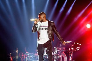 NEW ORLEANS, LA - JULY 04:  Usher performs at the 2015 Essence Music Festival on July 4, 2015 in New Orleans, Louisiana.  (Photo by Erika Goldring/Getty Images)