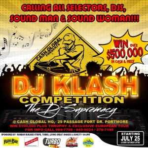 Klash Flyers Dj Supremacy