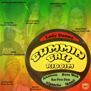 Bummin Ball Riddim with names