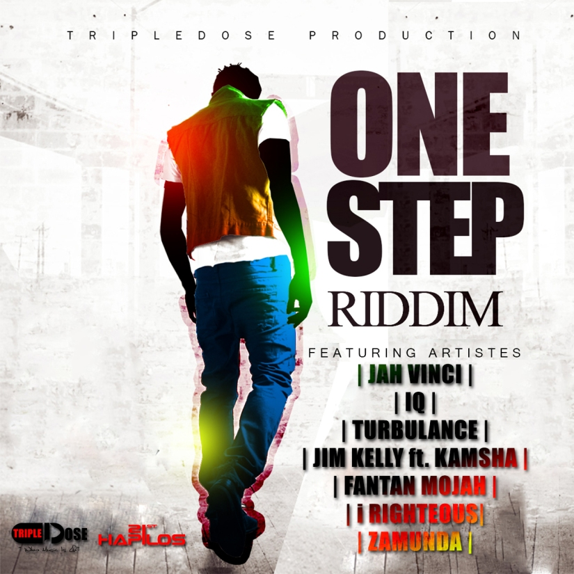 ONE STEP RIDDIM - ART WORK - [TRIPLEDOSE PRODUCTION]