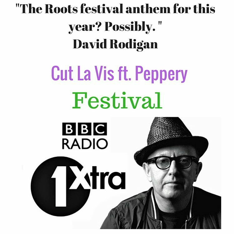 David Rodigan Endorses Peppery Tune