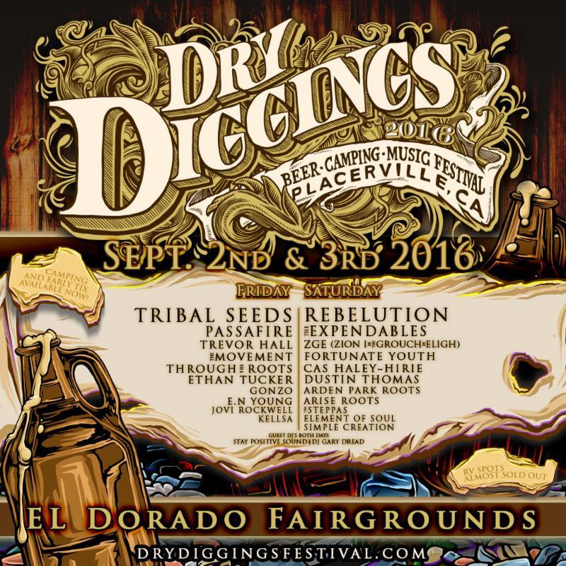 dry diggings festival