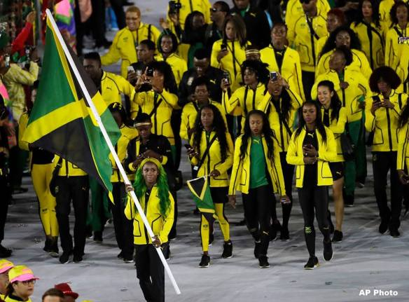 Jamaican Athletes in Rio