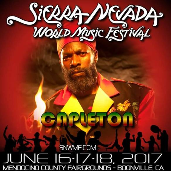 Capleton Confirmed