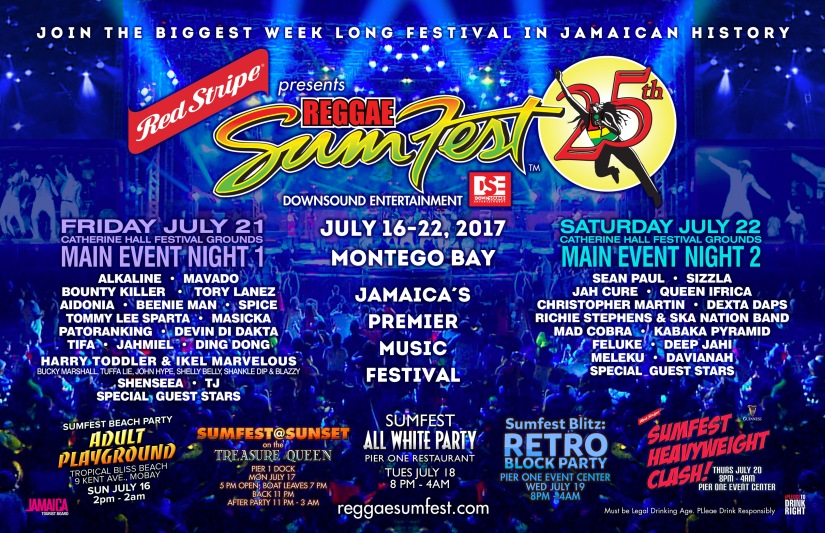 Reggae Sumfest Celebrates Th Anniversary ReggaeFestGuide - Reggae sumfest