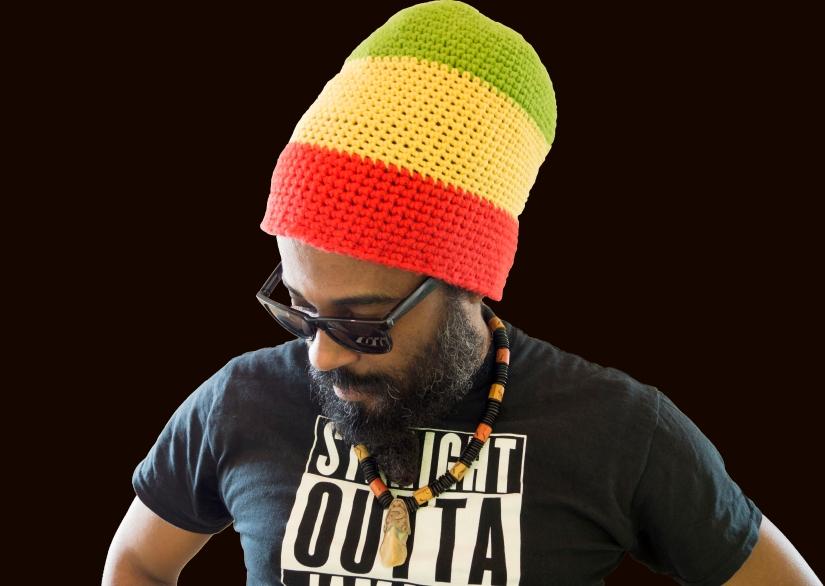 Teacha Dee - Side Profile ( Black Back Ground ) (Feb 2016)