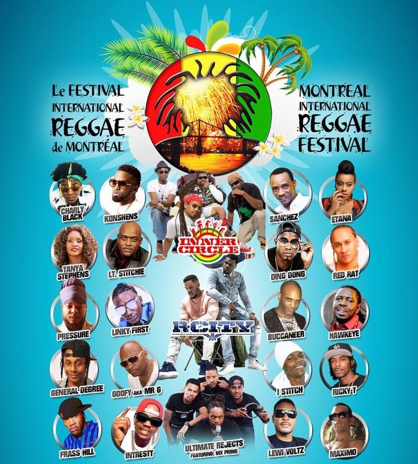 The Montreal Intl Reggae Festival
