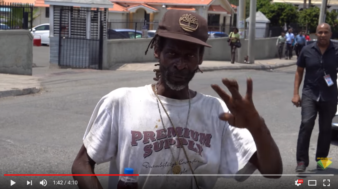 Bugle & the An9ted Humanitarian Foundation Feed Jamaica's Homeless