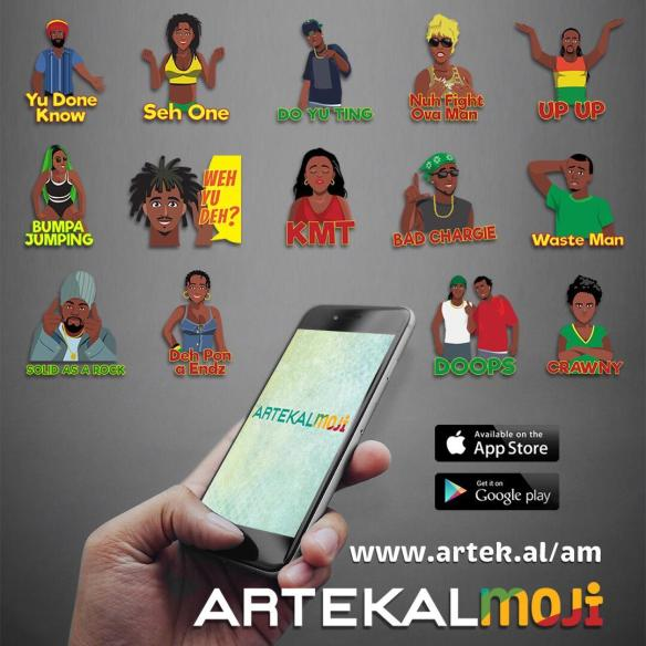 Artekal Music Releases GIF Emoji App ArtekalMoji