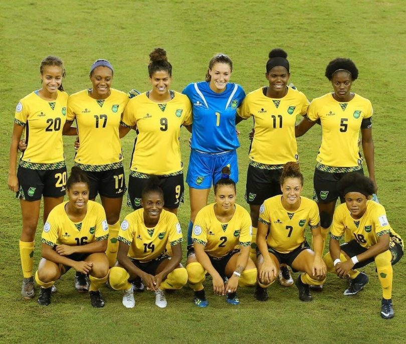 Reggae-Girlz-Jamaica-Women-Soccer-Team-Football-World-Cup-Reggae-Girls-810x686