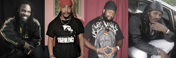 Bushman, Turbulence, Fantan Mojah, Natty King