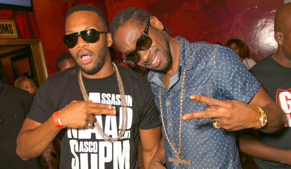 Bounty Killer and Agent Sasco